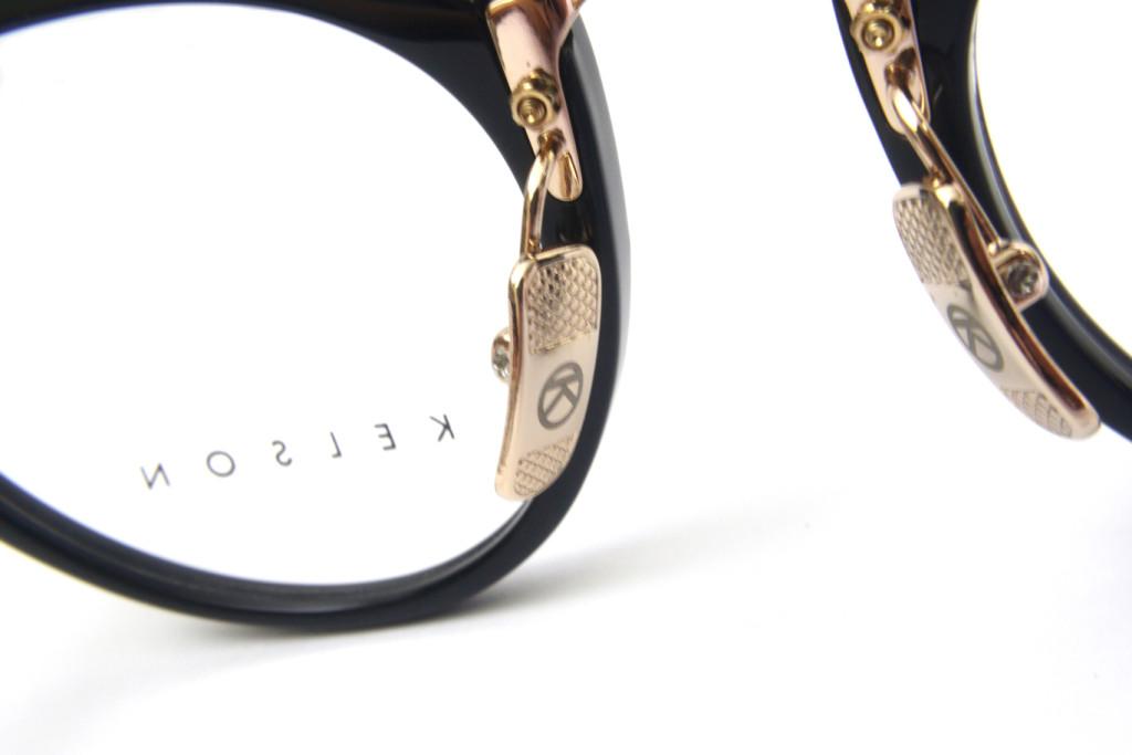 8eff8d4f11a Katana Black Frame KA01 Vintage Eyewear Frame - Kelson Design - A ...