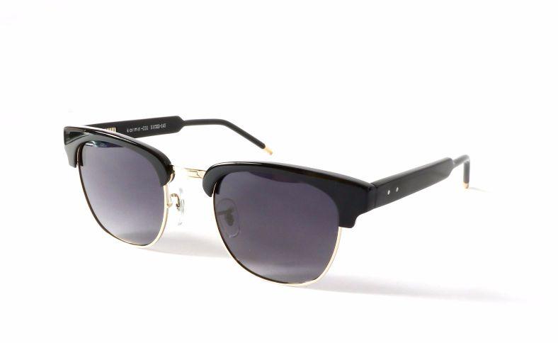 Karma Black Frame KR01B Vintage Sunglasses