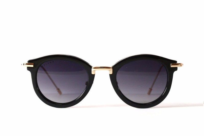 Kanji Black Frame KJ01B Vintage Sunglasses