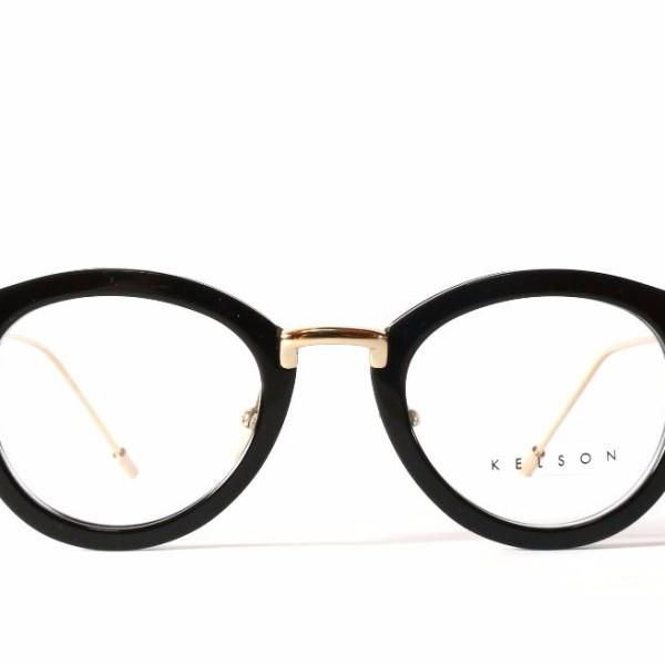 Glasses Frames Used : Kelson Unisex Kanji Black Frame Transparent Lens Round ...