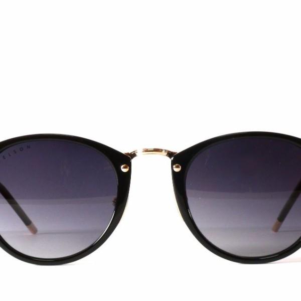 ba42acfdd07 Katana Black Frame KA01B Vintage Sunglasses - Kelson Design - A ...
